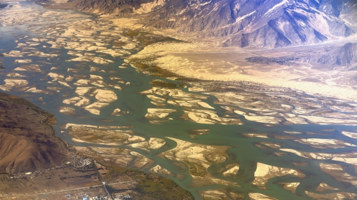 China plant einen Mega-Staudamm in Tibet und löst damit Ängste in Indien aus. (Foto)