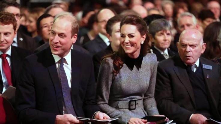Prinz William und Herzogin Kate auf der Holocaust-Gedenkfeier in London (Foto)