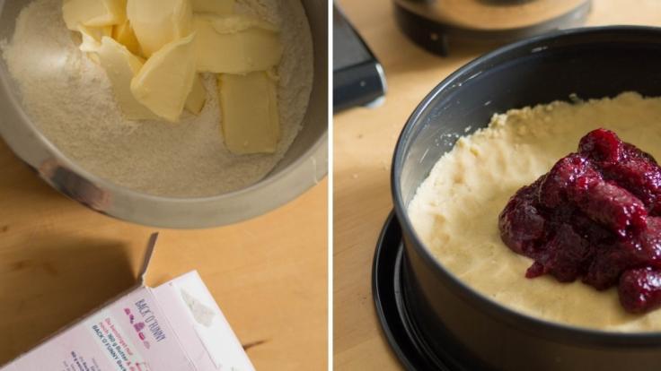 Die Zubereitung des Streuselkuchens geht schnell und einfach. (Foto)