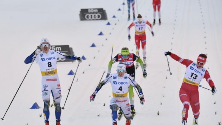 Skilanglauf bei Eurosport 1 (Foto)