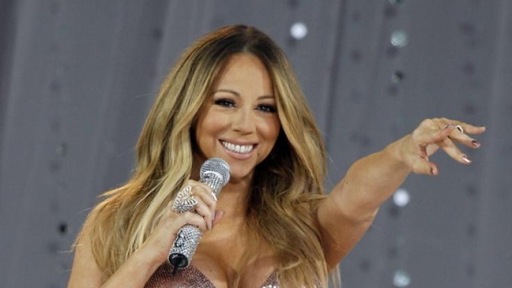 Mariah Carey hat mächtig an Gewicht zugelegt. (Foto)