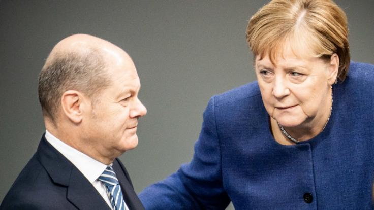Olaf Scholz zahlt einem Berater mehr, als Angela Merkel verdient. (Foto)