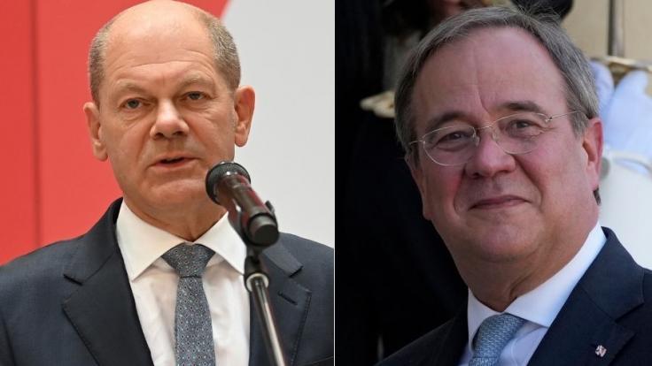 Wer wird der nächste Kanzler: Olaf Scholz oder Armin Laschet? (Foto)