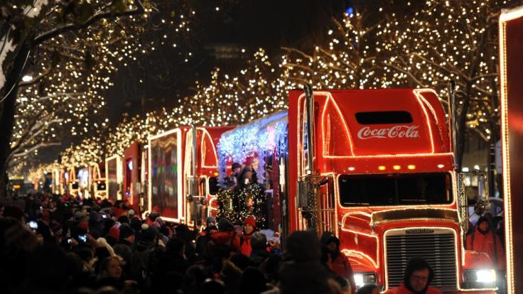 Die Coca-Cola-Weihnachtstrucks kommen auch 2019 wieder auf Deutschland-Tour.