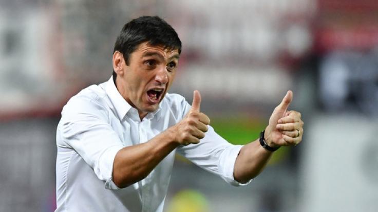 Tayfun Korkut, neuer Trainer bei Bayer Leverkusen. (Foto)
