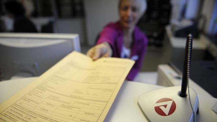 Agentur fuer Arbeit veroeffentlicht Arbeitsmarktzahlen (Foto)