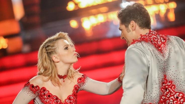 Iris Mareike Steen tanzt in der aktuellen Staffel von