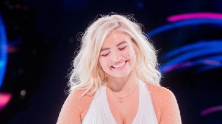 """Cury-Model Sarina Nowak hatte während der Generalprobe von """"Dancing on Ice"""" einen Kollaps. (Foto)"""
