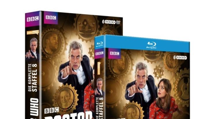 Die neuen Abenteuer des zwölften Doktors Peter Capaldi sind seit dem 13. März 2015 auf Blu-ray und DVD erhältlich.