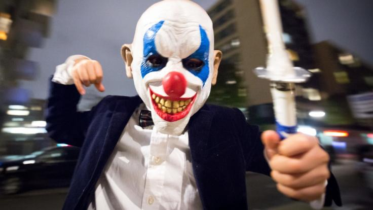 Kurz Vor Halloween 2018 Schon Wieder Killer Clowns Verbreiten