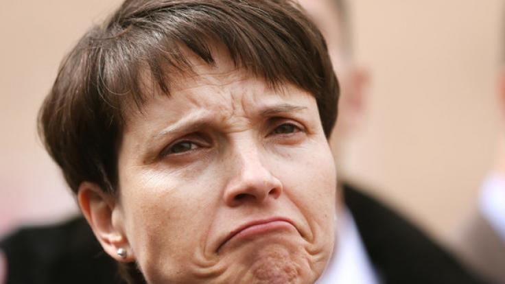Frauke Petry steht momentan in der Kritik. (Foto)