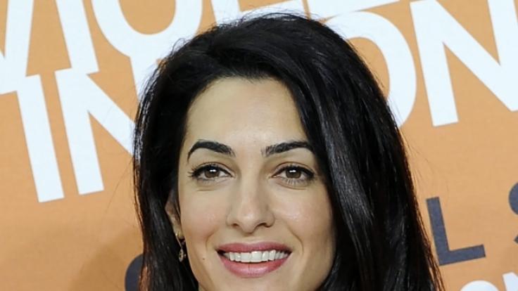 Sie hat George Clooney gezähmt: Amal Alamuddin. (Foto)