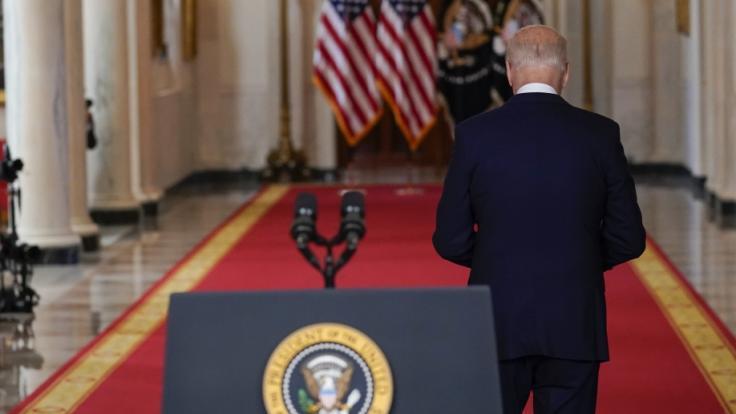 Meghan McCain erkennt Joe Biden (Foto) nicht wieder. (Foto)