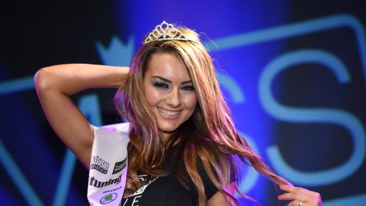 Veronika Klimovits ist die Miss Tuning 2014. (Foto)