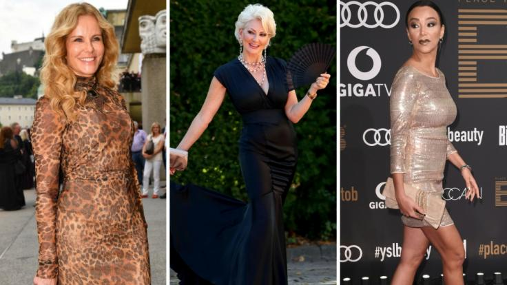 Supersexy auch jenseits der 50: Katja Burkard, Desirée Nick, Verona Pooth.