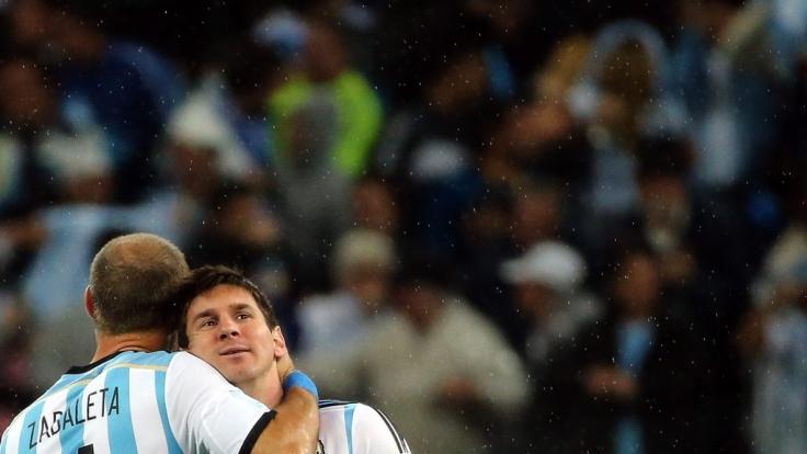 Kann er die Last aushalten, die auf seinen Schultern ruht? Lionel Messi