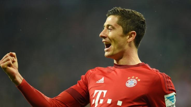 Kann Robert Lewandowski gegen Köln sein Torekonto weiter aufladen? (Foto)