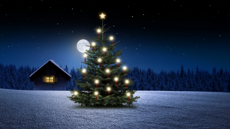 Der Mond beeinflusst auch das Weihnachtsfest. (Foto)
