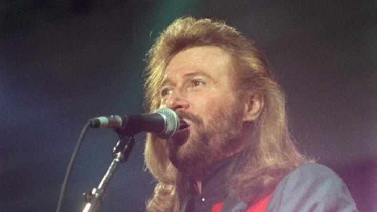 Barry Gibb 1991 in Berlin. (Foto)