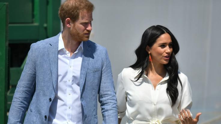 Hängt bei Prinz Harry und Meghan Markle der Haussegen wirklich so schief, wie US-amerikanische Klatschblätter behaupten?