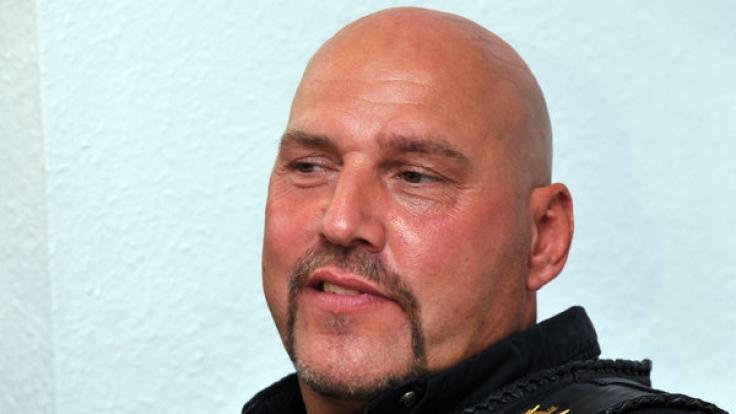 Ex-Rockerboss Hanebuth ist offenbar seit drei Jahren seinen Führerschein los. (Foto)