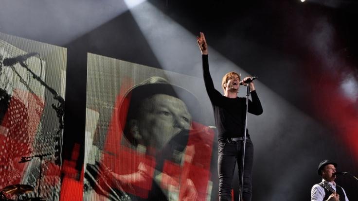Von wegen alte Hasen: Campino rockt 70.000 Fans in Leipzig.