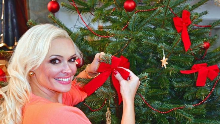 Daniela Katzenberger zeigt sogar ihr Weihnachtsfest im Fernsehen.