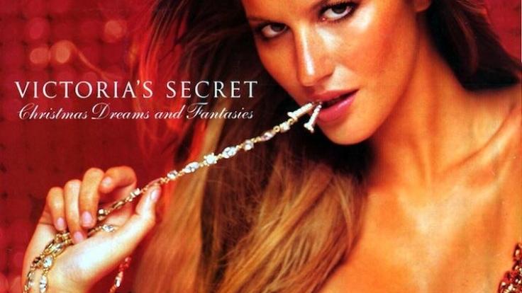 Model Giselle Bündchen trägt den teuersten BH der Welt.