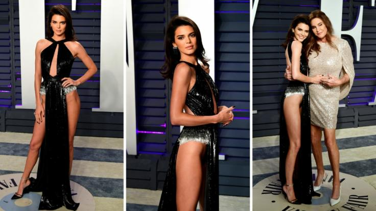Dieser Look von Kendall Jenner machte bei der Oscar-Party von Vanity Fair Eindruck.