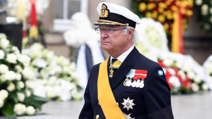 König Carl XVI. Gustaf von Schweden (Foto)