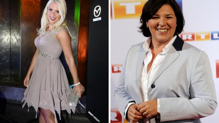 Vera Int-Veen (rechts) will Jenny Frankhauser (links) verkuppeln. (Foto)