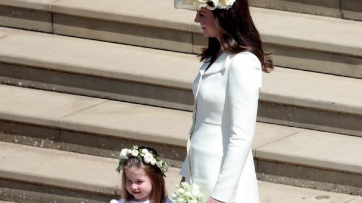 Stolze Mutter: Prinzessin Charlotte (3) soll Mama Kate bei der Hochzeit von Prinz Harry und Meghan Markle zu Tränen gerührt haben. (Foto)