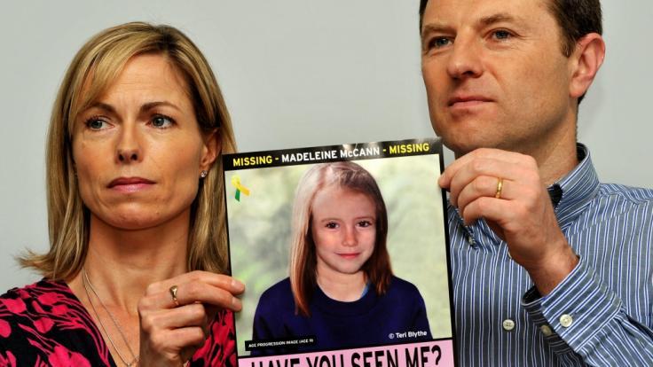 Die Eltern von Maddie McCann suchen immer noch nach ihrer Tochter. (Foto)