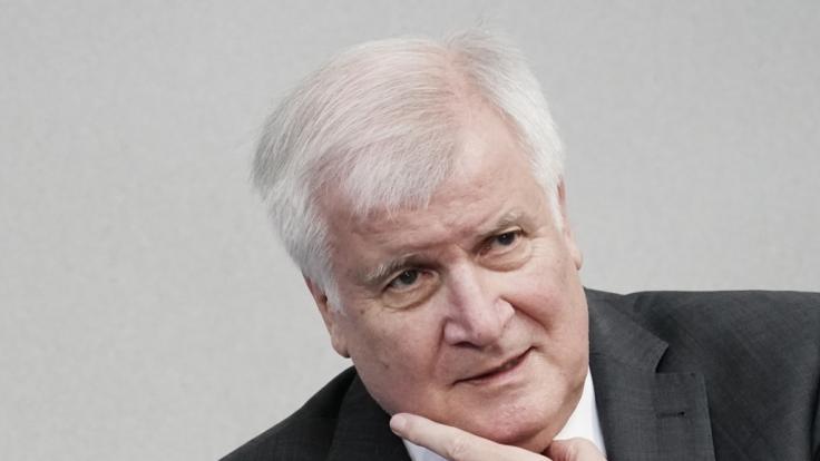Horst Seehofer ist für eine Begrenzung der Migration.