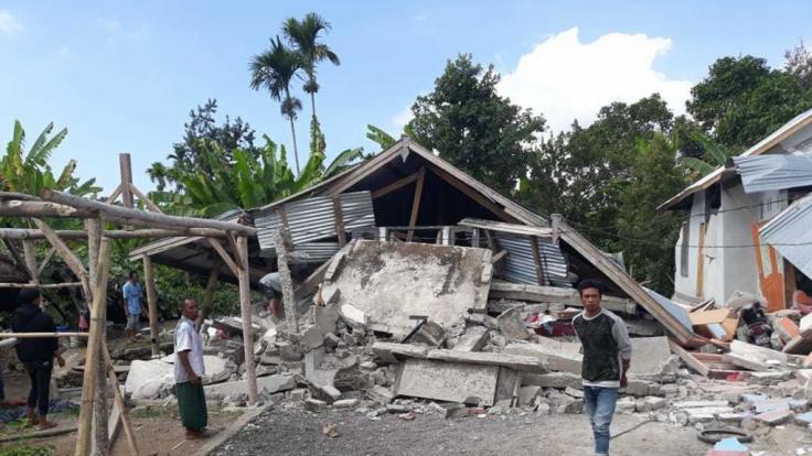 Erst im August erschütterte ein schweres Erdbeben die indonesische Insel Lombok. (Foto)