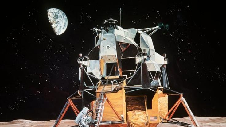 Haben die Astronauten während der Mondmission Aliens gesehen?