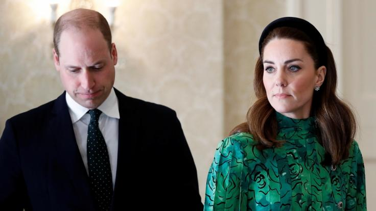 Für Kate Middleton und Prinz William gab es auf ihrer Irland-Reise einige Stolpersteine.