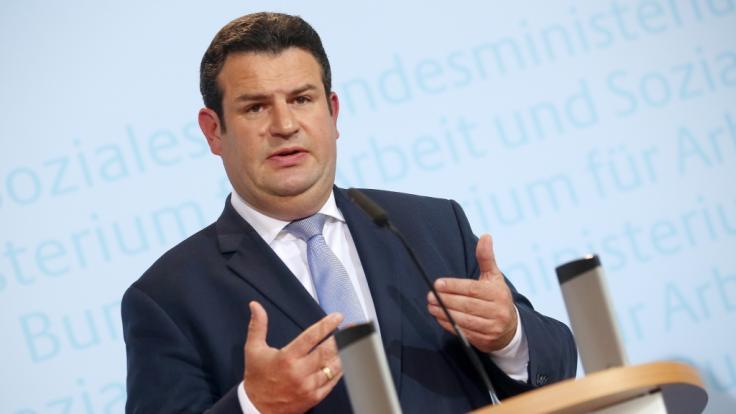 Hubertus Heil fordert eine höhere Rente für Geringverdiener. (Foto)