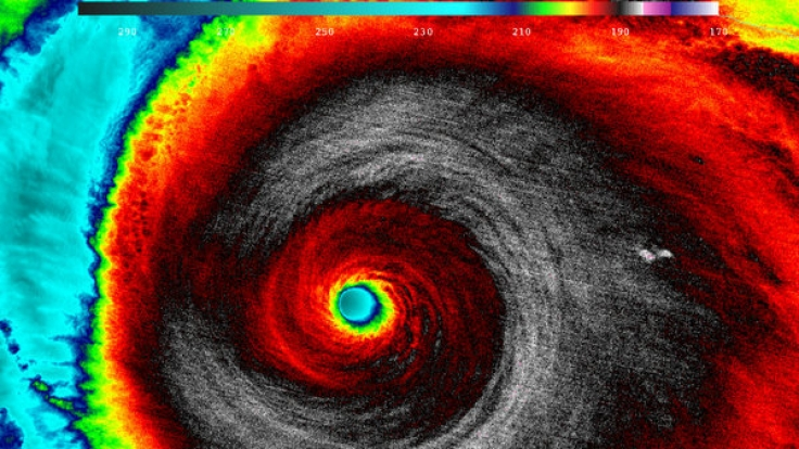 Ein Satellitenbild des Hurrikans Patricia vom Oktober 2016. (Foto)