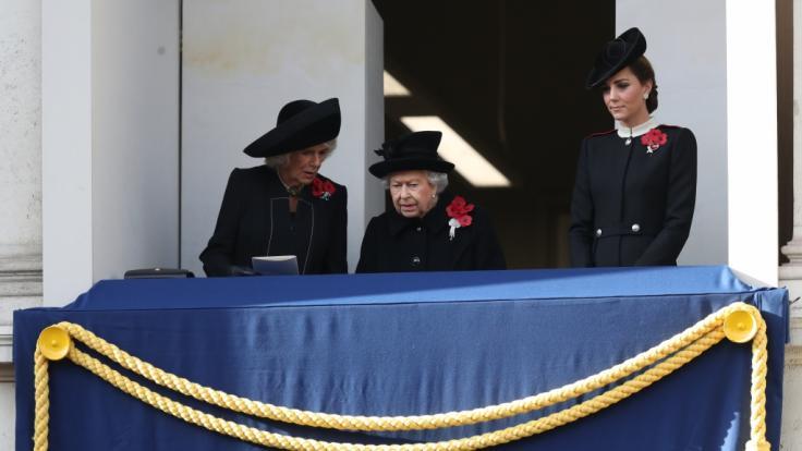 Camilla sorgt für einen Eklat. (Foto)