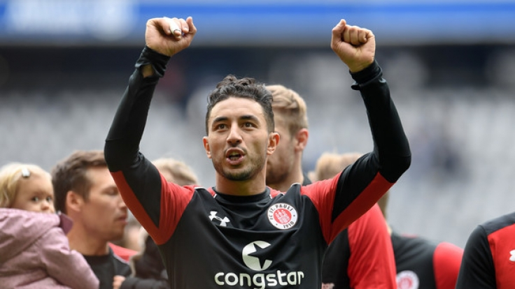 St. Pauli hat momentan eigentlich keinen Grund zum Jubeln. Vor dem 27. Spieltag liegt die Mannschaft auf Platz 16. (Foto)