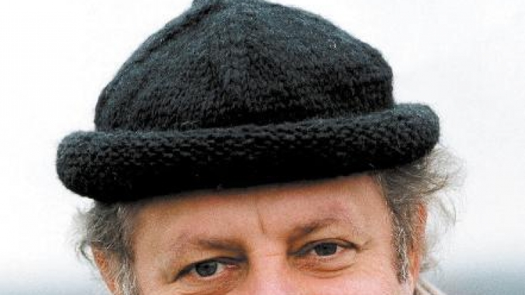 Der Meisterkoch Vincent Klink, Chef des Stuttgarter Gourmet-Restaurants