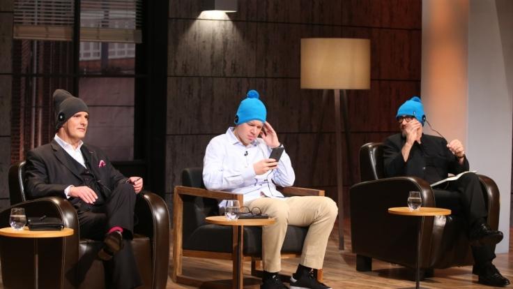"""Mit """"Earebel"""", der Mütze mit integrierten Kopfhörern, wollen die Gründer Dietmar Hirsch und Manuel Reisacher bei """"Die Höhle der Löwen"""" Investoren anlocken. (Foto)"""