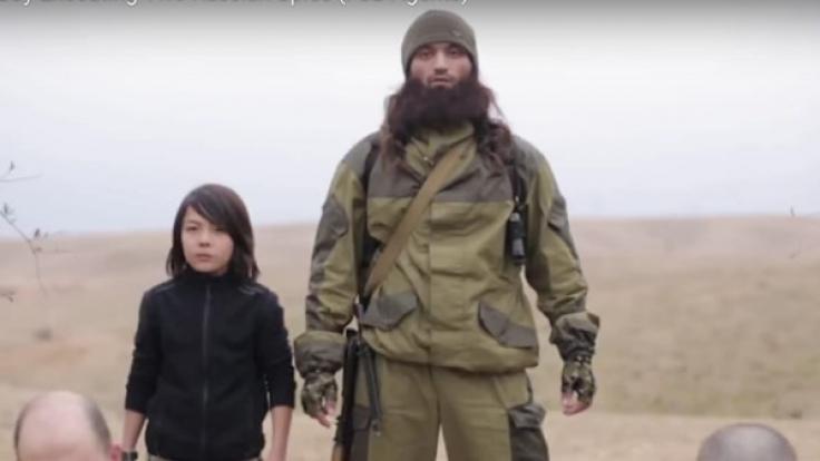 Ein 14-Jähriger tötet zwei russische Spione für den IS. (Foto)
