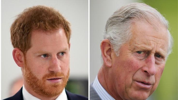 Prinz Harry und Prinz Charles werden Weihnachten nicht gemeinsam feiern.