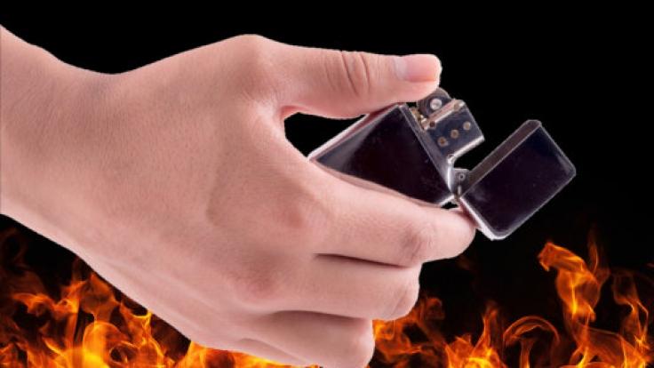 Das Feuerzeug eines Mitschüler wurde Vivian H. zum Verhängnis. (Foto)