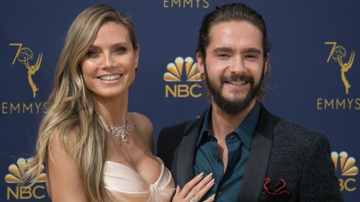 Heidi Klum und Tom Kaulitz als frisch verliebtes und äußerst fotogenes Paar.