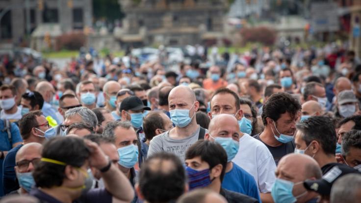 In Oberösterreich gilt ab sofort wieder Maskenpflicht. (Foto)