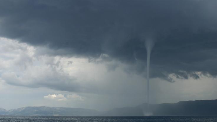 Vor der Küste Mallorcas fegten zwei Tornados übers Wasser. (Symbolbild) (Foto)