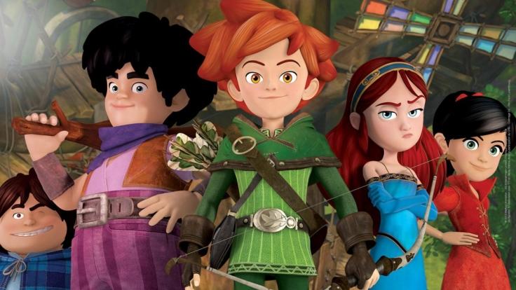 Robin Hood - Schlitzohr von Sherwood bei KiKA